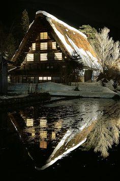 Shirakawago, Japan by primevision.cc.