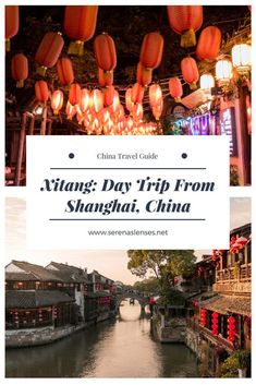 Xitang: Day Trip From Shanghai, China. Ever wondered where Mission Impossible was filmed in China? This is the place! #chinatraveling