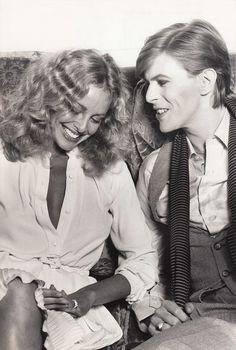 Sidne Rome con David Bowie