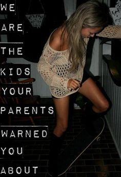 We are the kids your parents warned you about! #kids #sowild