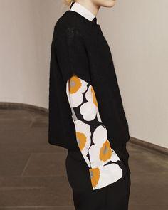 Marimekko poppy silk shirt aw 15