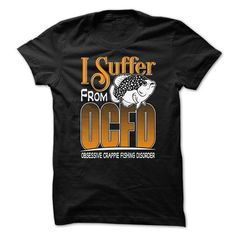 Obsessive Crappie Fishing Disorder - #black shirt #cute sweatshirt. PRICE CUT => https://www.sunfrog.com/Fishing/Obsessive-Crappie-Fishing-Disorder.html?68278