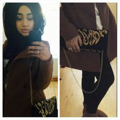 One of our lovely customers rocking the le-touche clutch