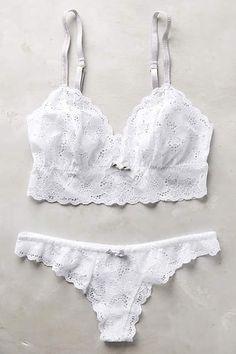Eberjey Gemma Bralette - anthropologie.com #anthrofave - lingerie panties, females in lingerie, pretty lingerie *ad