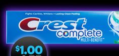 Free Crest, Pampers and more- Tons of new freebies and coupons from Proctor and Gamble-