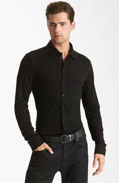 Armani Collezioni Knit Shirt