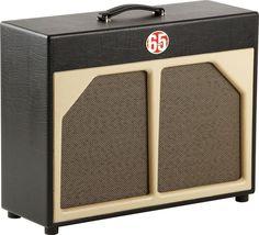 65amps2x12 Guitar Speaker Cabinet Red LineBlack