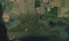 'Google Maps' map of 'Monnet'. A salt marsh on the southern tip of Tåsinge island, Denmark.