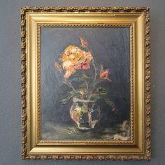 J Aerts-bloemstilleven met rozen uit 1939