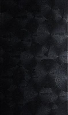 Spiral Tiles - Circular Black. A modern metallic-effect collection of tiles with bold colours and stunning relief designs for both walls and floors. The Spiral collection, inspired by the Saturn range, consists of two designs in three colour ways, complemented by the concentric circles of the circular groove design. These wall tiles are further enhanced by the addition of a matching glazed porcelain floor tile again in a concentric circular design. Bold Colors, Colours, Black Tiles, Wall Tiles, Tile Floor, Household, Porcelain Floor, Flooring, Circles