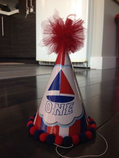 Nautical party hat