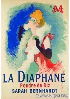 Affichekaart: The Diaphane 1890 Kunstenaar: Jules Cheret Postcard Art Nouveau, Art Deco, Poster Art, Poster Prints, Jules Cheret, Folies Bergeres, Pub Vintage, Henri De Toulouse Lautrec, Advertising Poster