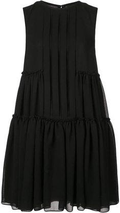 Fashion Tips For Boys Vera Wang pleated shirt dress