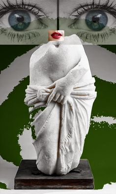ömer ATES & collage - Google+ Collages, Sign, Statue, Google, Art, Art Background, Collagen, Kunst, Performing Arts