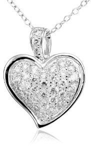 Sterling Silver CZ Pendant (Currently 74% off on Amazon)