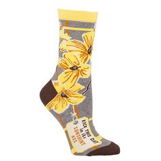 Share this product for $2 off! Kick This Day In Its Sunshiny Ass Socks