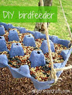 35 TOTALLY AWESOME BIRD FEEDER CRAFTS FOR KIDS To view all projects just click…