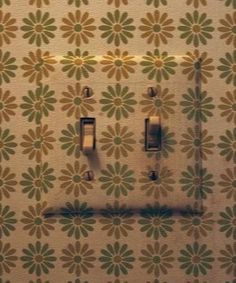 Liven up a boring light switch: Remove the switch plate, and place a piece of wallpaper on top of it. Fold the paper's edges over the plastic, attaching it with a thin coat of craft glue, then screw back into place.