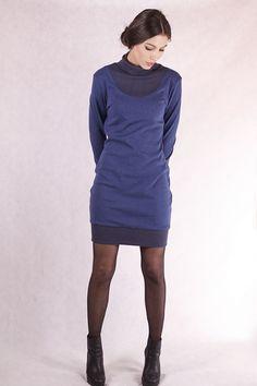Stretchkleider - NARA Pullover Kleid - ein Designerstück von Berlinerfashion bei DaWanda