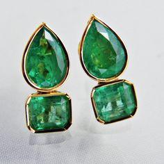 1027 Best Emerald Earrings images