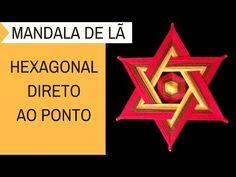Como Fazer Mandala Hexagonal - Direto ao Ponto - YouTube