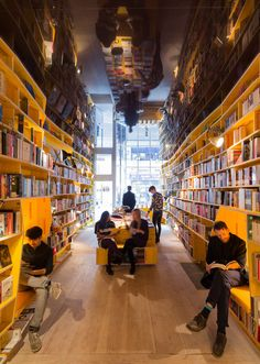 Spanish studio SelgasCano has completed a concept bookstore in east London
