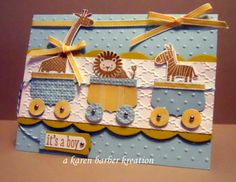 ZOO BAMBINOS by Karen B Barber - Cards and Paper Crafts at Splitcoaststampers