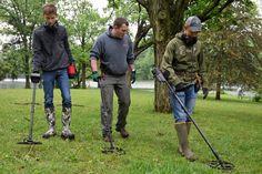 Metal Detecting Day brings adventurers to Lake Storey