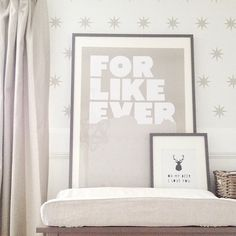 Grey and white nursery