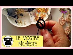 Chiaccierino ad Ago Orecchini 2°P. - Ankars Basico - Cerchi sovrapposti, le perle nei cerchi. - YouTube