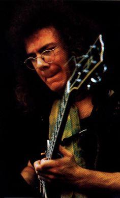 King Crimson's mad genius Robert Fripp in 1971.