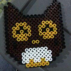 Owl perler beads by dayahanhar