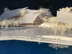"""Gallery of MAD Designs New """"Floating Theater"""" of Glass Sails in China - 10"""