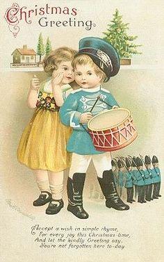 Vintage Christmas ephemera