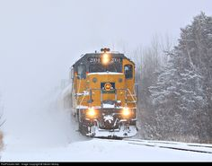 RailPictures.Net Photo: MQT 2004 Marquette Rail EMD GP38-2 at Ludington, Michigan by Steven Mckay