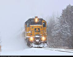 RailPictures.Net Photo: MQT 2004 Marquette Rail EMD GP38-2 at Ludington, Michigan by Steven Mckay