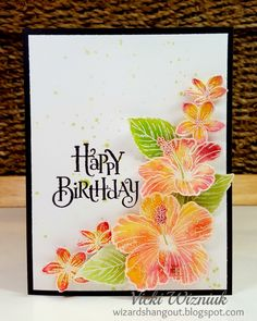 77 best hawaiian birthday greetings images on pinterest birthday wizards hangout hawaiian hibiscus birthday card m4hsunfo