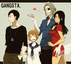 GANGSTA., Alex Benedetto, Nina (Gangsta.), Nicholas Brown, Worick Arcangelo