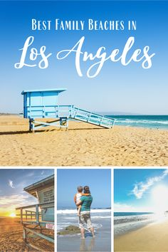Looking for the best family beaches in and around Los Angeles, California? Check out our favorite places in LA for sun and sand with the whole family! San Diego, San Francisco, Visit California, California Travel, Travel With Kids, Family Travel, Best Family Beaches, Travel Guides, Travel Tips