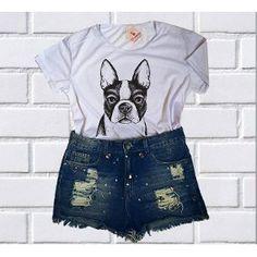 de913b0d7 roupas mercado livre · Camiseta Baby Look Feminina Roupa Tumblr Manga Curta  Barato