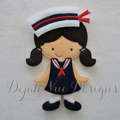 Sailor Girl Outfit for 5x7 nonpaper doll