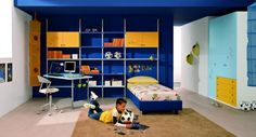 25 Cool Boys Bedroom Ideas by ZG Group | DigsDigs