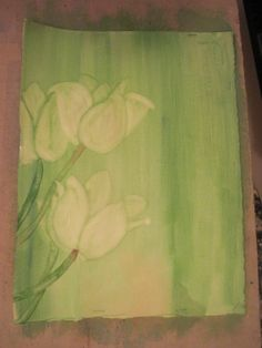 water color flowers