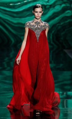 MONIQUE LHUILLIER: Runway Photos Fall 2013✿⊱╮