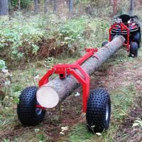 IRON BALTIC Helps you to make your all- terrain vehicle all it can be! How to purchase Iron Baltic Rear support: Log hauler ? Log Trailer, Utility Trailer, Lumber Mill, Wood Mill, Logging Equipment, Tools And Equipment, Metal Projects, Welding Projects, Atv Implements