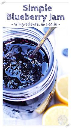 Blueberry Jam, Blueberry Recipes, Jam Recipes, Canning Recipes, Pectin Recipe, Yum Yum Sauce, Fruit Salsa, How To Make Jam