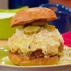 German-Style Turkey Burgers. Remember to score the turkey in a bowl (after mixing) so each one is the same size. Then make the middle section of each burger thinner than the outsides to help with cooking evenly and because the burger will rise and make an even patty