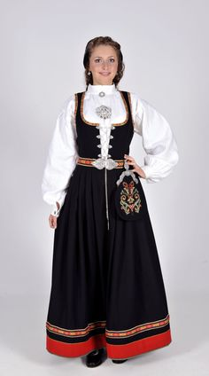 Cheap wool dress, Buy Quality dresses shorts directly from China wool double knit fabric Suppliers: 2015 Custom Made Norway Traditional Festival Dress Bunads Plus Size Folk Costume, Costume Dress, European Costumes, Norwegian Wedding, Norway Viking, Island Outfit, Wool Dress, Wool Scarf, Traditional Outfits
