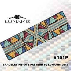 PDF FORMAT / PATTERN ONLY. Create this beautiful peyote cuff bracelet. This is a DIGITAL product, no physical goods will be sent! (Materials are NOT included!) Miyuki Delica Beads size 11/0 Odd count with 7 bead colors. 33 bead columns by 93 bead rows. Width: 1.75 (4,5 cm) Length: 6.5 (16,4 cm) If you like the pattern but would like it in a different size - write me a message and Ill try to customize it. Patterns include: - Large colored numbered graph paper (and non-numbered in...