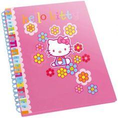 Askartelu & puuhailu - HELLO KITTY MUISTIKIRJA - Keravan Muovi ja Lelu Oy Hello Kitty, Notebook, The Notebook, Exercise Book, Notebooks